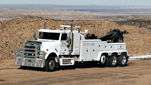 Marshalls Truck Repair heavy tow truck