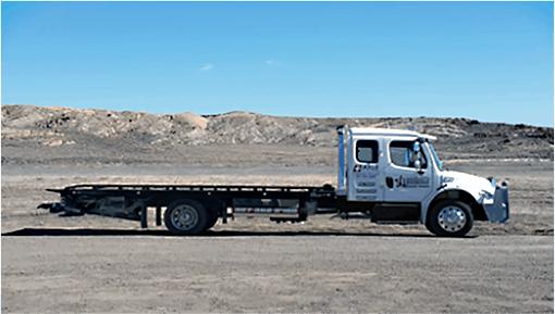 Marshalls Truck Repair light tow truck